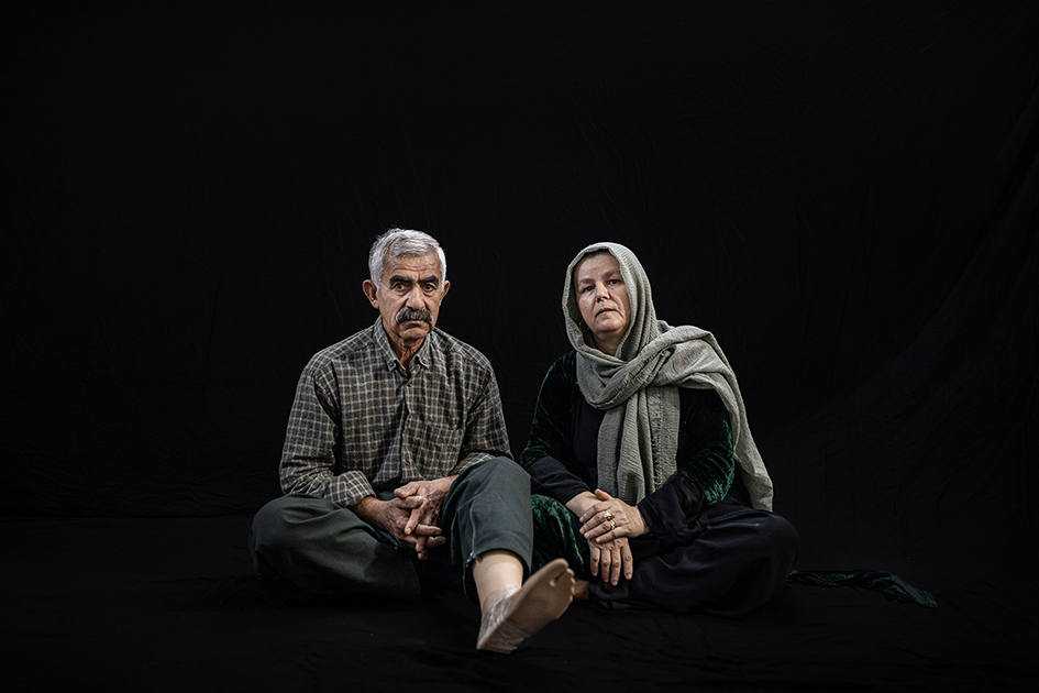 Mosa Bapir Mosa Rasul was born in 1953 and his wife Piroza Hamakhan Hassan was born in 1970, he is Peshmarga since 1971 and during all this time four-time he got wounded which last time was fighting ISIS in April 2015 which he lost a leg with an IED (Improvised explosive device) in Zarga Area.  According to Media reporters, more than 10,000 Peshmargah were wounded in the IS war.